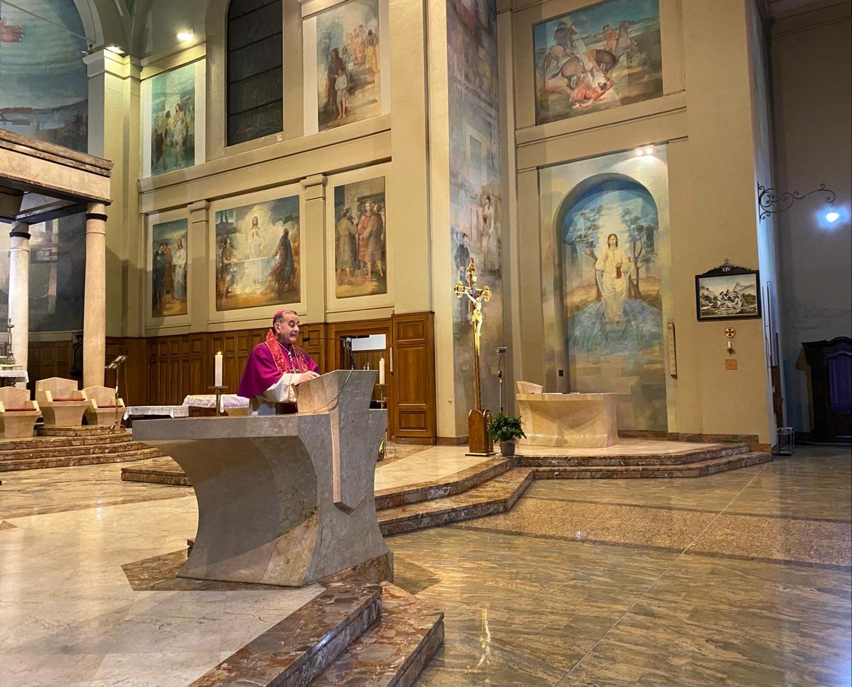 Via Crucis con l'Arcivescovo