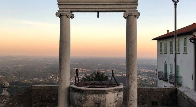 Sacro Monte al tramonto