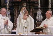 Mons. Delpini in pellegrinaggio al Sacro Monte di Varese