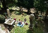 Pic-nic nel giardino di Casa Pogliaghi
